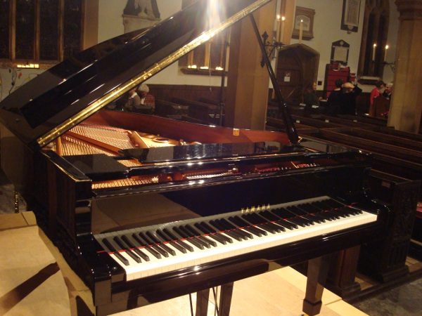 Unveiling of the brand new C3 Yahama Grand Piano in Milverton Parish Church